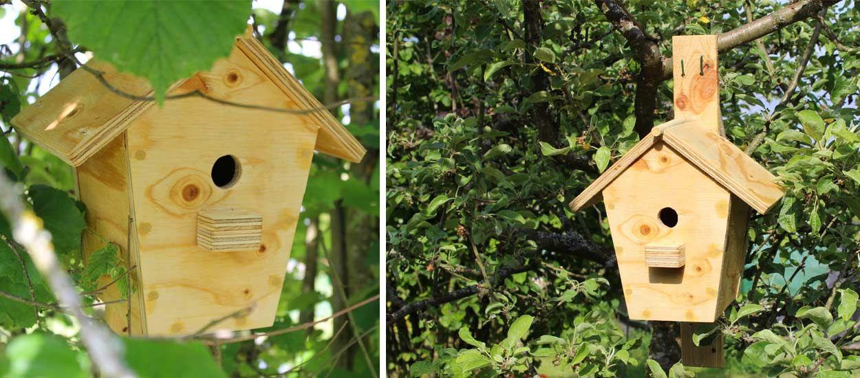Fabriquez Un Nichoir Pour Les Oiseaux Du Jardin DIY