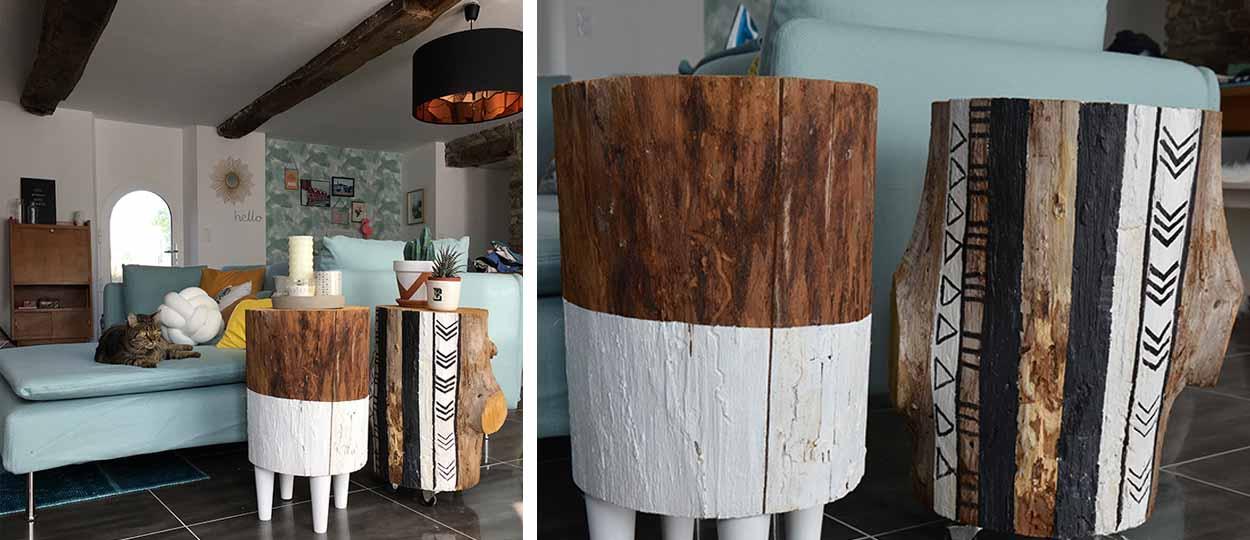 construire une table d appoint en bois