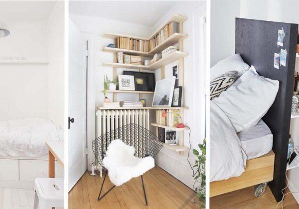 13 Astuces De Rangement Pour Optimiser Une Petite Chambre