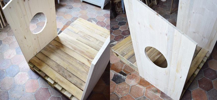 DIY Niche En Palettes Construisez Un Abri En Bois Pour