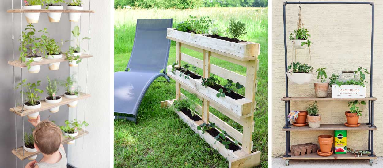 Potager Balcon 18 Tutos Pour Fabriquer Une Jardinire