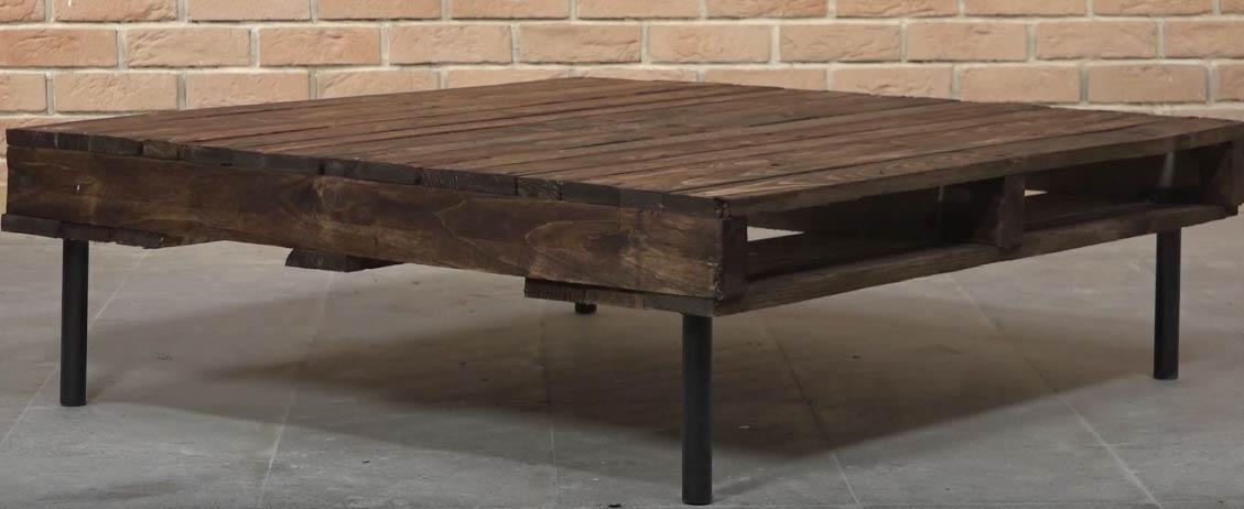 fabriquer une table basse en palette