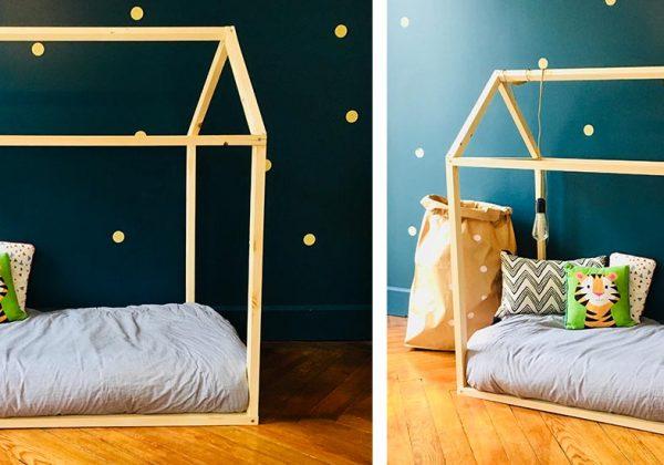 diy pour fabriquer un lit cabane pour