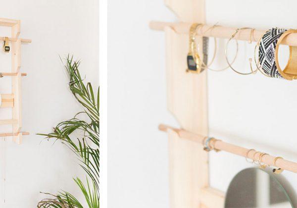 Diy Fabriquez Un Rangement A Bijoux Mural Pour Moins De 15 Euros