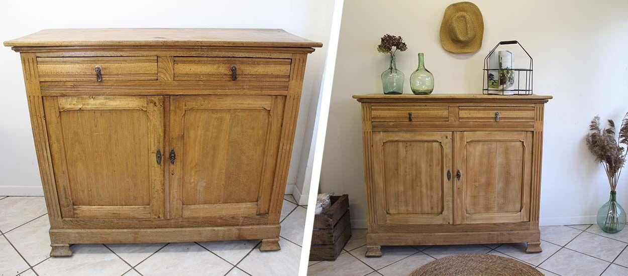 etapes pour renover un meuble en bois