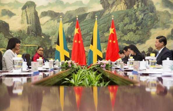 China investing in Jamaica.