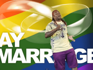 Reggae on gay marriage