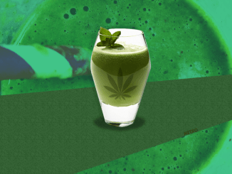 Marijuana Smoothie