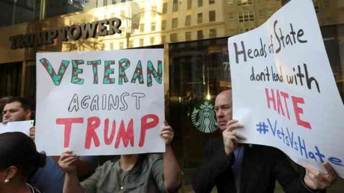 Donald Trump hates veterans