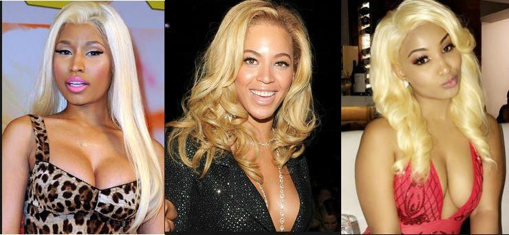Nicki Ninaj, Beyonce and Shenseea