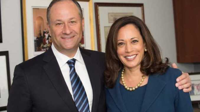 Kamala Harris and her husband