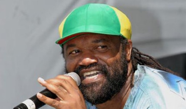 Reggae artist and promoter Tony Rebel