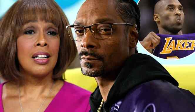 Gayle King, Snoop Dogg and Kobe Bryant