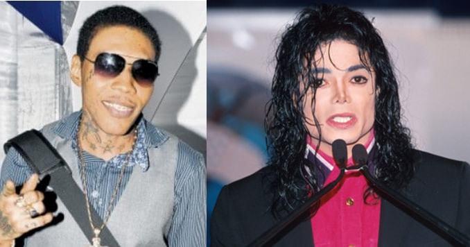 Vybz Kartel and Michael Jackson