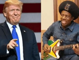 Donald Trump and Eddy Grant