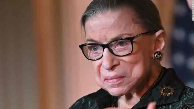 Justice Ruth Bader Ginsburg has died