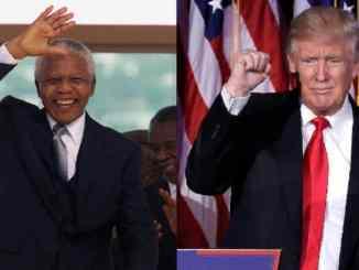 Nelson Mandela and Donald Trump