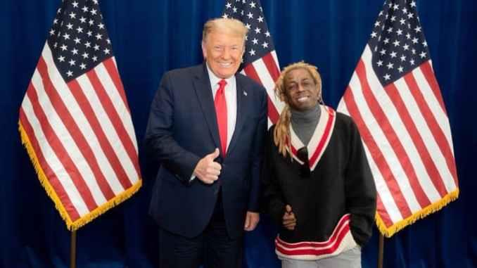 Donald Trump and Lil Wayne