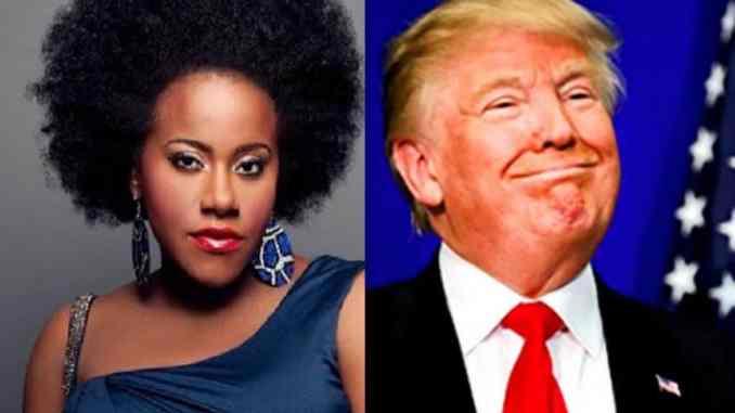 Etana and Donald Trump
