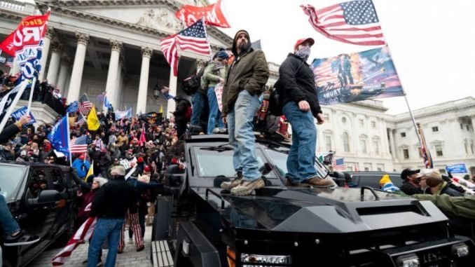 Donald Trump supporters riot in DC