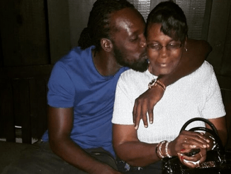 Mavado and his mother