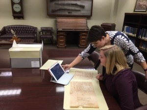 Dr. Freidman and Kelsie Shipley