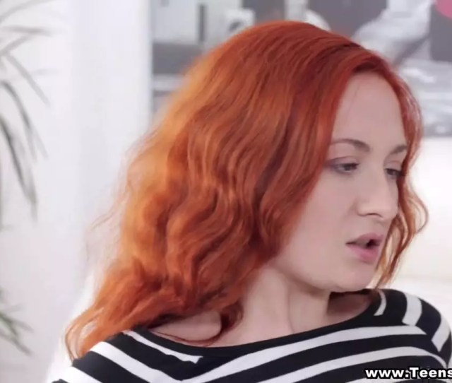 Redhead Luvs Very First Time Assfuck