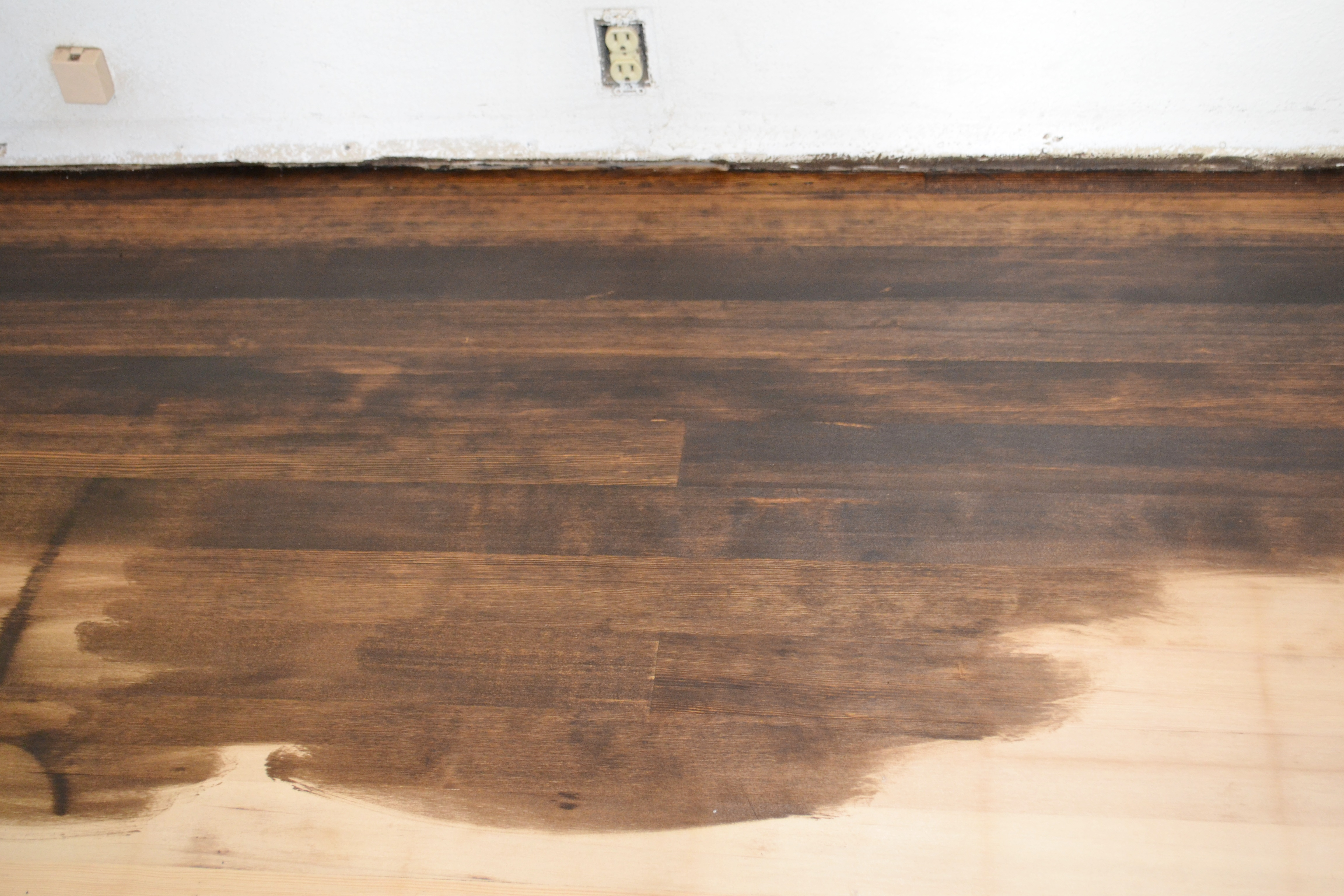 How To Re Sand Hardwood Floors Part - 44: Itu0027s Very Nerve Racking To Apply The Stain And Knowing That This Is  Permanent (well Unless We Wanted To Re-sand)