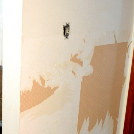 How to properly remove wallpaper