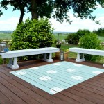 DIY: Painted Outdoor Rug