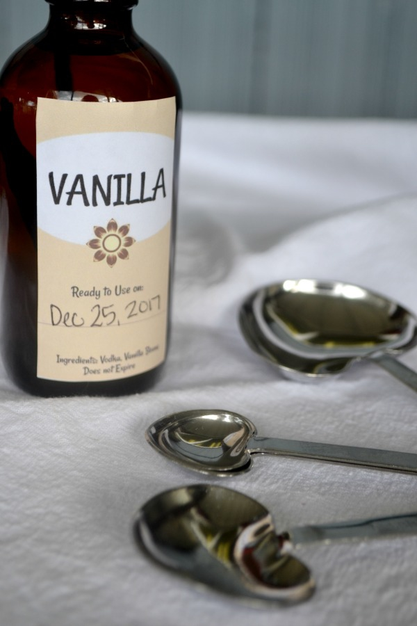 Homemade Vanilla is very easy and makes a great holiday gift for the baker on your list
