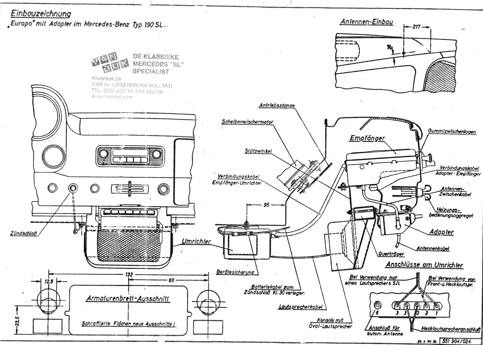 Mercedes 230sl Wiring Diagram