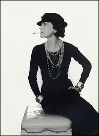 Coco Chanel Smoking