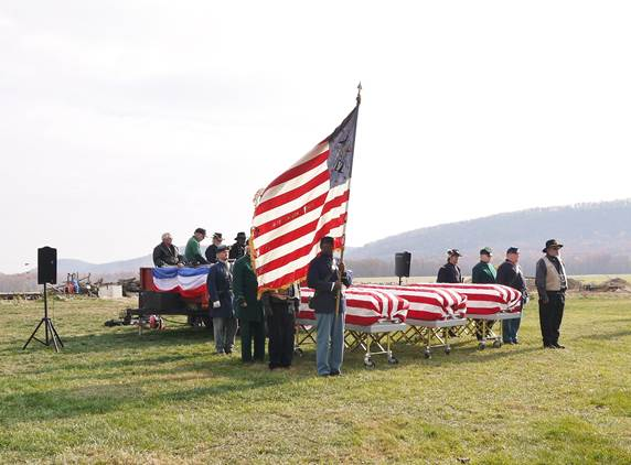 Three Central Pa. African-American Civil War veterans given proper burial