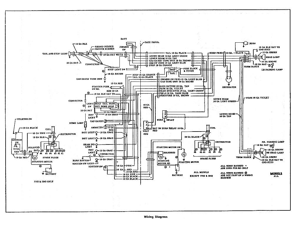 1955 mustang wiring diagram