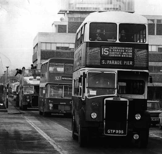 ShowBus Event, Brunel Uni, Jan 1973