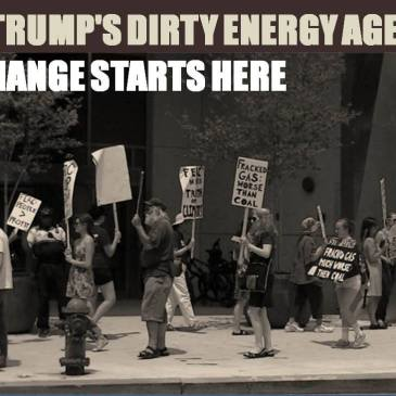stop trumps dirty energy agenda flyer