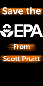 Fire Pruitt to save the EPA
