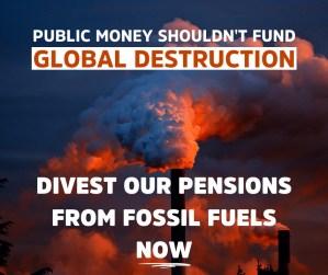 Divest our pensions