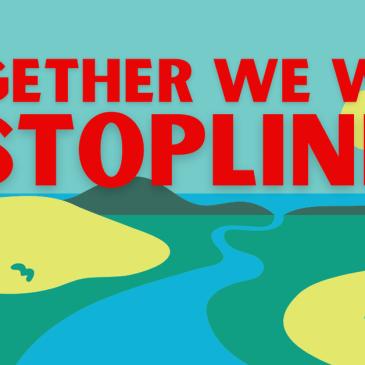 Together we will #StopLine3