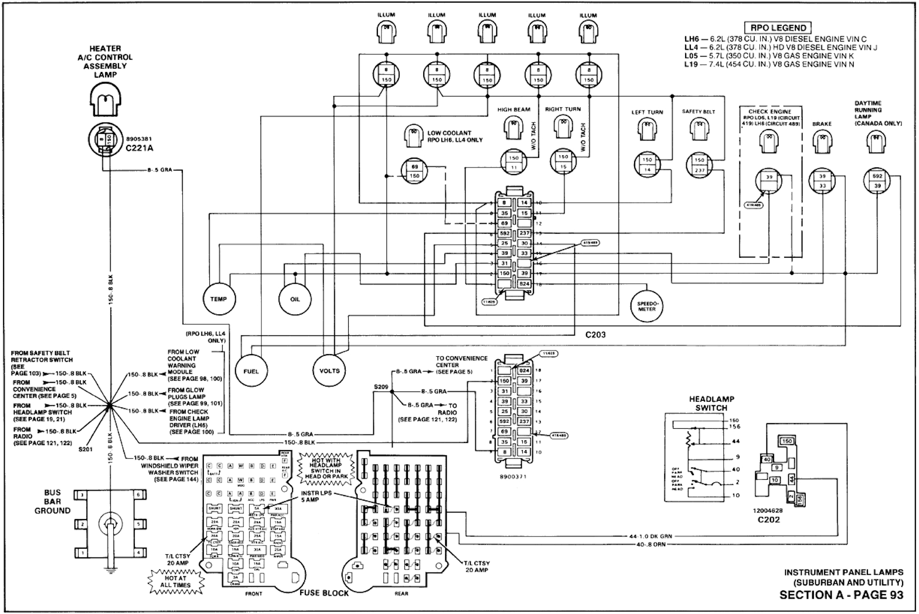 Chevy Suburban Engine Diagram