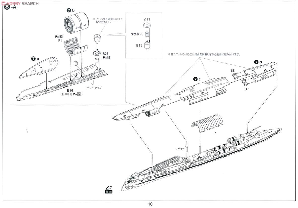 Submarine Blue Steel I 401 Plastic Model Images List