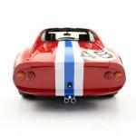 Ferrari Dino 246 Gt 1972 46 Red White Blue Stripe Diecast Car Item Picture5