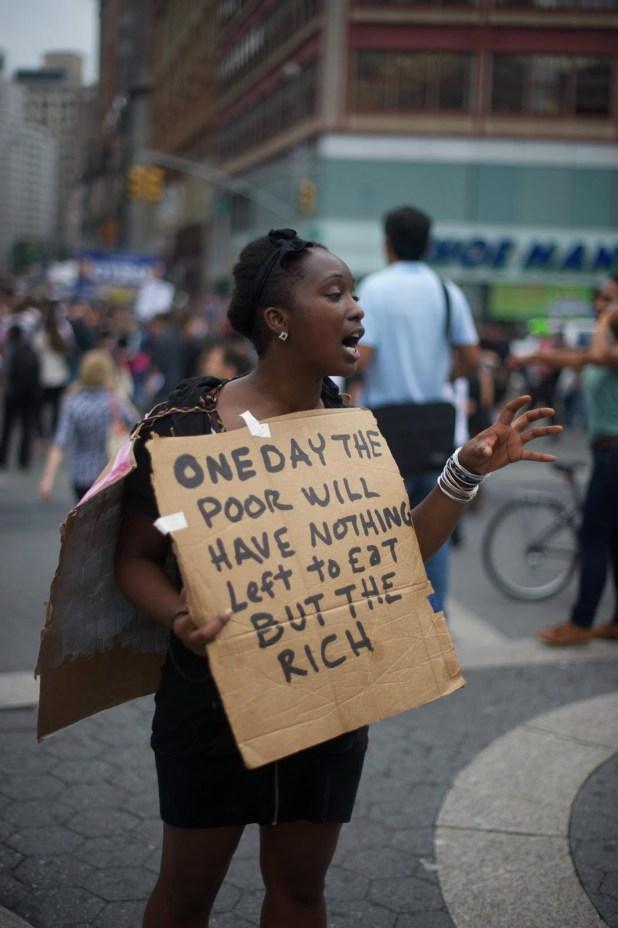 chômage aux Etats-Unis eat rich