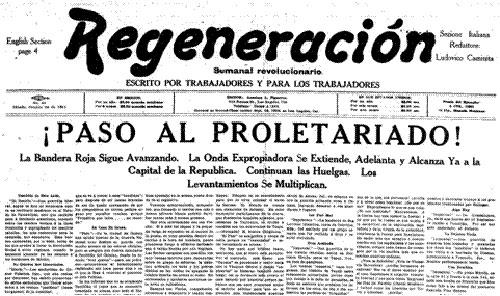 Histoire du magonisme et de l'anarchisme au Mexique – Part II: Regeneración