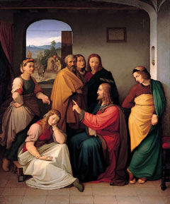 Overbeck, Christ with Mary and Martha