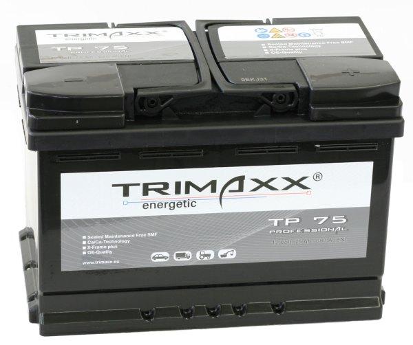 """Trimaxx Batterien für """"Autobatterien"""""""