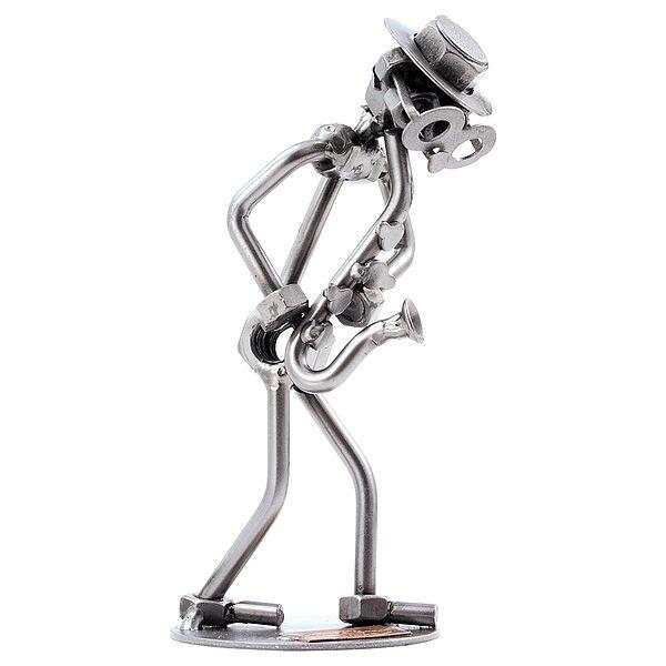 Schraubenmännchen Saxophonist