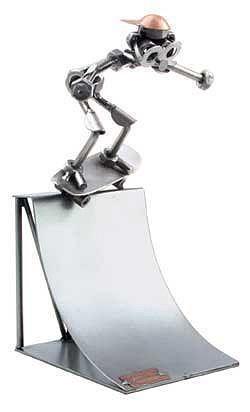 Schraubenmännchen Skateboarder