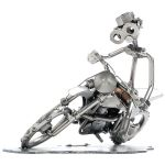 Zu Weihnachten: Schraubenmännchen Motocross – Motorradfahrer auf seinem Motorrad ein prima Geschenk